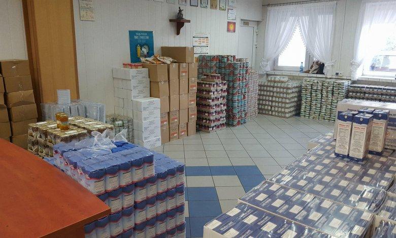 Pomoc żywnościowa POPŻ